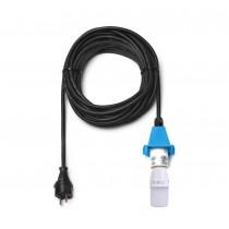 10 m Kabel für blaue Herrnhuter Sterne aus Kunststoff (A4/A7) inkl. LED