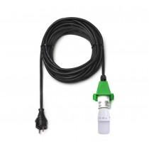 10 m Kabel für grüne Herrnhuter Sterne aus Kunststoff (A4/A7)