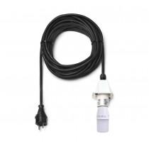 10 m Kabel für weiße Herrnhuter Sterne aus Kunststoff (A4/A7) inkl. LED