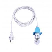 5 m Kabel für blaue Herrnhuter Sterne aus Kunststoff (A4/A7)