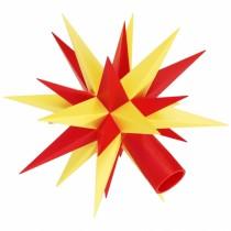 Ersatz-Stern für Herrnhuter Sternenketten (A1s) gelb-rot