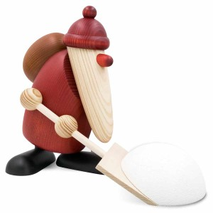 Köhler - Weihnachtsmann mit Schneeschieber