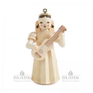 Blank - Faltenlangrockengel mit Gitarre