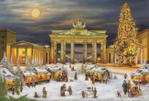 Brück & Sohn - Adventskalender - Berlin Brandenburger Tor