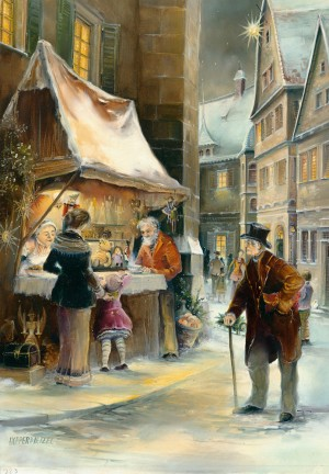 Brück & Sohn - Adventskalender - Weihnachtsbude