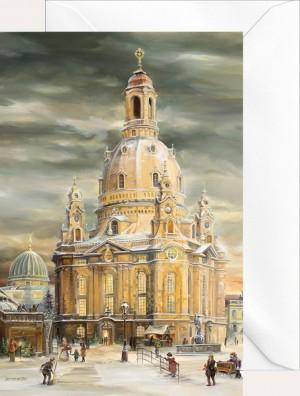 Brück & Sohn - Weihnachtsklappkarte - Frauenkirche neu