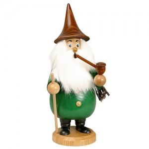 DWU - Räuchermann Wurzelzwerg grün, 19cm