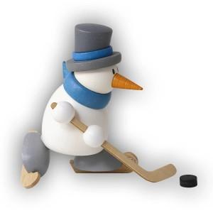 Hobler - Schneemann Otto beim Eishockey