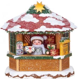 Hubrig - Winterkinder - Weihnachtspostamt - elektrisch beleuchtbar