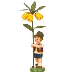 Hubrig - Blumenkinder - Blumenjunge mit Kaiserkrone 17cm