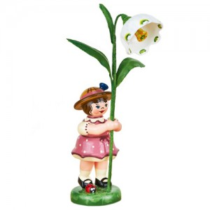Hubrig - Blumenkinder - Blumenmädchen mit Märzenbecher 7cm
