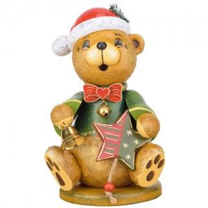 Hubrig - Räucherwichtel - Teddy - Weihnachtsklaus 20 cm