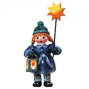 Hubrig - Winterkinder - Mädchen mit Stern und Laterne