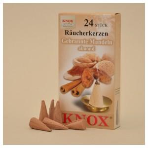 KNOX Räucherkerzen Gebrannte Mandeln 24 St. / Pkg.