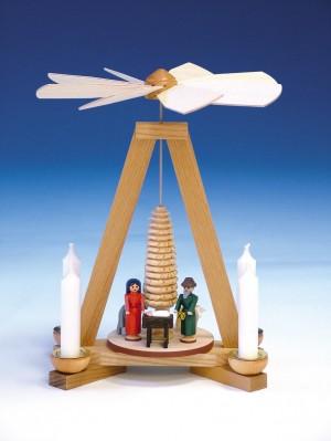 Knuth Neuber Pyramide Christi Geburt 23cm