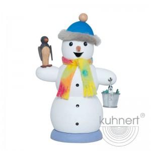 Kuhnert - Schneemann mit Pinguin
