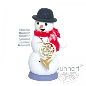 Kuhnert - Schneemann mit Horn