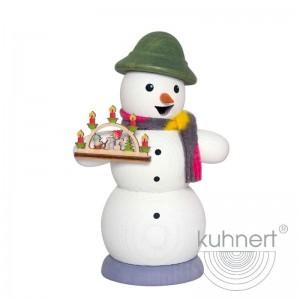 Kuhnert - Schneemann mit Schwibbogen
