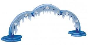 Beleuchteter Bogen für Schneeflöckchen-Wolke mit 3 Etagen
