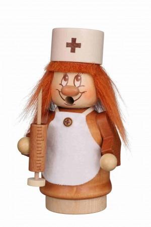 Christian Ulbricht - Räuchermann Miniwichtel Krankenschwester