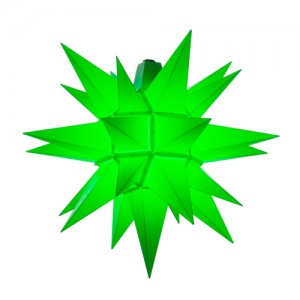 Original Herrnhuter Stern für außen ø ca. 40 cm grün (A4)