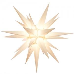 Original Herrnhuter Stern für außen ø ca. 130 cm weiß (A13)