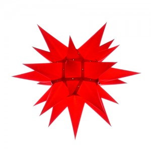 Original Herrnhuter Stern für innen ø ca. 40 cm rot (I4)