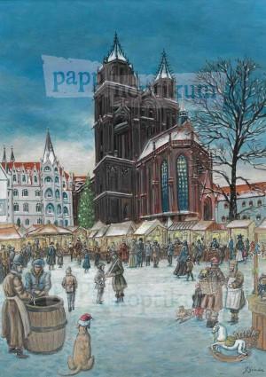 Adventskalender - Weihnachtsmorgen Meißen