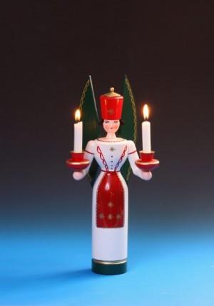 Schalling - Lichterengel farbig, 36 cm