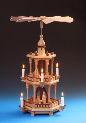 Pyramide Christi Geburt 2-stöckig