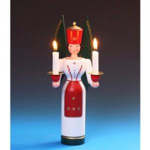 Schalling - Lichterengel farbig, 29 cm