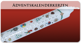 Adventskalenderkerzen