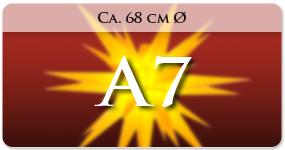 A7 (ca. 68cm)