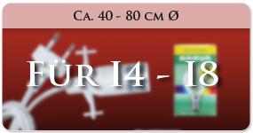 Zubehör für I4-I8